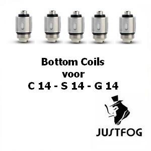 Justfog S14/G14 (per 5 stuks)