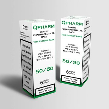 QPharm 50/50 PG/VG Base ( 10ml)